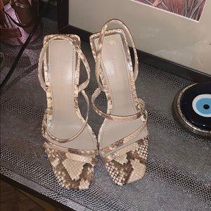 Zara Shoes - Zara python heels